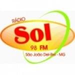 Logo da emissora Rádio Sol 98.7 FM