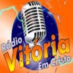 Logo da emissora Rádio Vitória em Cristo Forró Total