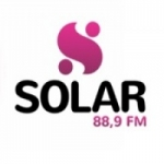 Logo da emissora Rádio Solar 88.9 FM