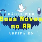 Logo da emissora Rádio Web Boas Novas No Ar