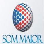 Logo da emissora Rádio Som Maior 100.7 FM