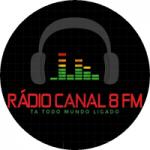 Logo da emissora Rádio Canal 8 FM