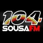 Logo da emissora Rádio Sousa 104.3 FM