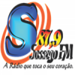 Logo da emissora Rádio Sossego 87.9 FM