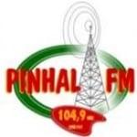 Logo da emissora Rádio Pinhal 104.9 FM