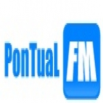 Logo da emissora Rádio Pontual 87.9 FM