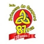 Logo da emissora Rádio Princesa do Guaporé 87.9 FM