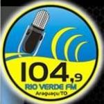Logo da emissora Rádio Rio Verde 104.9 FM