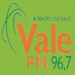 Logo da emissora Rádio Vale 96.7 FM