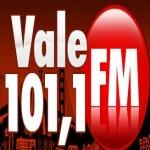 Logo da emissora Rádio Vale 101.1 FM