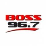 Logo da emissora WCVS 96.7 FM