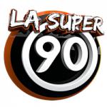 Logo da emissora Rádio La Super 90