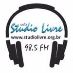 Logo da emissora Rádio Studio Livre 98.5 FM