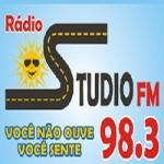Logo da emissora Rádio Studio 98.3 FM