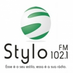 Logo da emissora Rádio Stylo 102.1 FM
