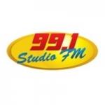Logo da emissora Rádio Studio 99.1 FM