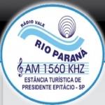 Logo da emissora Rádio Vale do Rio Paraná 1560 AM