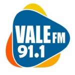 Logo da emissora Rádio Vale 91.1 FM
