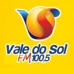 Logo da emissora Rádio Vale do Sol 100.5 FM