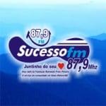Logo da emissora Rádio Sucesso 87.9 FM