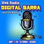 Logo da emissora Web Rádio Digital Barra
