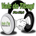Logo da emissora Rádio Vale do Tibagi 87.9 FM