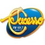 Logo da emissora Rádio Sucesso FM 101.7