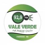 Logo da emissora Rádio Vale Verde 92.9 FM