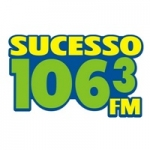Logo da emissora Rádio Sucesso 106.3 FM