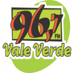 Logo da emissora Rádio Vale Verde 96.7 FM