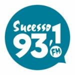 Logo da emissora Rádio Sucesso 93.1 FM