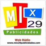 Logo da emissora Mix 29 Publicidades Web Rádio