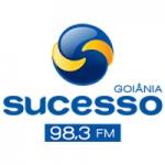 Logo da emissora Rádio Sucesso 98.3 FM