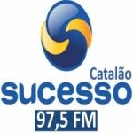 Logo da emissora Rádio Sucesso 97.5 FM