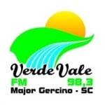 Logo da emissora Rádio Verde Vale 98.3 FM