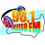 Logo da emissora Rádio Sucesso 98.1 FM