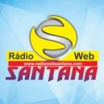 Logo da emissora Rádio Web Santana