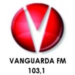 Logo da emissora Rádio Vanguarda 103.1 FM