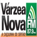 Logo da emissora Rádio Vázea Nova 87.9 FM