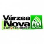 Logo da emissora Rádio Várzea Nova 87.9 FM