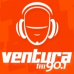 Logo da emissora Rádio Ventura 90.1 FM