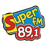 Logo da emissora Rádio Super 89.1 FM