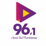 Logo da emissora Rádio Sul Fluminense 96.1 FM