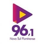 Logo da emissora Rádio Nova Sul Fluminense 96.1 FM