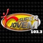 Logo da emissora Rádio Super Jovem 103.3 FM
