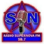 Logo da emissora Rádio Super Nova 98.7 FM