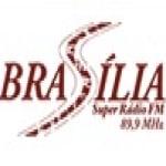Logo da emissora Brasília Super Rádio 89.9 FM