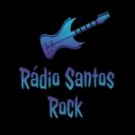 Logo da emissora Rádio Santos Rock