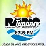 Logo da emissora Rádio Tupancy 87.5 FM