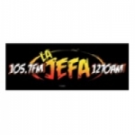 Logo da emissora WKBF 105.7 FM